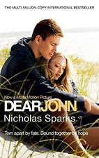 Dear John, Nicholas Sparks, Very Good condition, Book