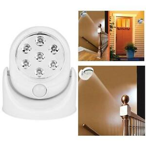 LED Motion Sensor Light Outdoor Indoor Security Wireless Night Lamp Activated