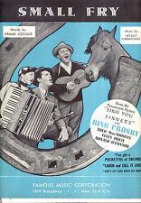 "SING YOU SINNERS Sheet Music ""Small Fry"" Bing Crosby Fred MacMurray"