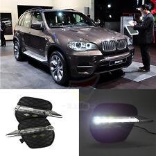 New LED Daytime Running Light For BMW X5 E70 Driving Fog Lamp DRL 2011 2012 2013