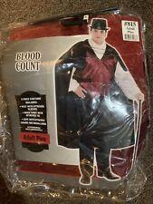 Blood Count Men's Halloween Costume Adult Plus Sized Vampire Complete Dress Up