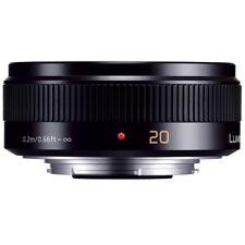 NEW BOXED PANASONIC LUMIX G 20mm/F1.7 II H-H020A-K LENS / BLACK  4 GF5 GX1 G5