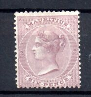 Mauritius 1860-63 6d SG#63 mint (no gum) WS15381