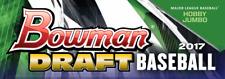 2017 BOWMAN DRAFT BASEBALL COMPLETE 445-CARD MASTER SET - PAPER, CHROME & INSERT
