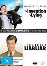 THE INVENTION OF LYING / LIAR LIAR (DVD, 2-DISC) R-4-NEW-FREE POST IN AUSTRALIA