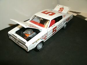 #5 MARIO ANDRETTI 1966 COTTON OWENS PREPARED DODGE CHARGER 1/24 RARE CUSTOM