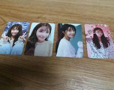 Apink Jung Eunji 혜화(暳花)  photocard Photo Card Set (4 pcs) / New released