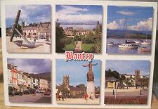 Irish Postcard BANTRY Bay West Cork Ireland Multiview Six Views O'Toole Hinde