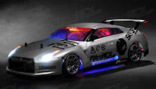 Exceed RC MadSpeed GT-R Drift King Brushless 1/10 Electric RTR LED Car Silver