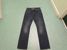 "H & M LOGG Straight Jeans waist 30"" Leg 32"" Faded Medium Blue Mens Jeans"