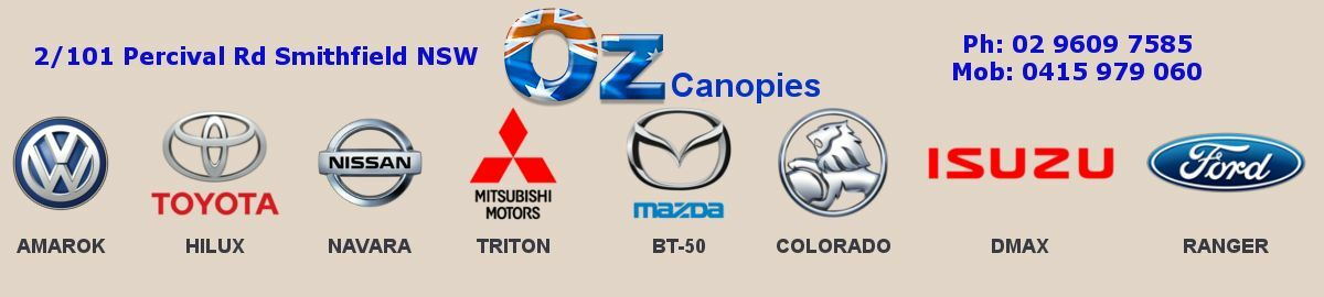 Oz Canopies and Accessories