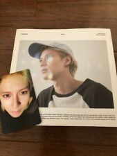 SHINee TAEMIN Solo Album ACE CD+Trading cards Free Shipping Tracking No.