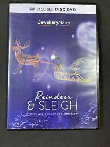 Jewellery Maker Instructional DVD: Beaded Wirework Reindeer & Sleigh (2 Disc)