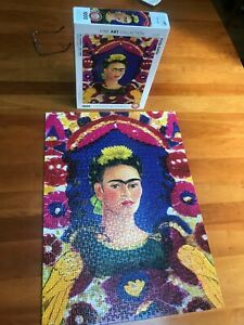 Eurographics Puzzle - Frida Kahlo Self Portrait - Fine Art Collection 1000 Piece