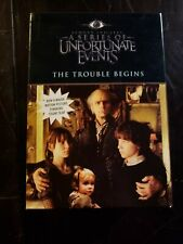 New listing A Series of Unfortunate Events Books 1-3Bad BeginningReptile Room Wide Window
