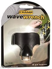 CHAMP WAVE WRENCH  FOR GOLF SPIKES OR CLEATS.