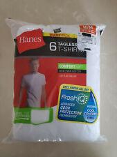 Hanes Men's FreshIQ Undershirt 6-Pack Men's Shirts TAGLESS Size M Medium