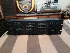 Sae 3000 Stereo Preamplifier Preamp Control Amp