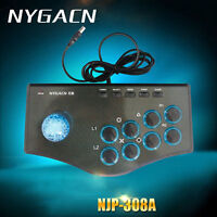 Arcade Street Joystick Gamepad Fighting Stick Controller For PC PS3 USB 2019 New