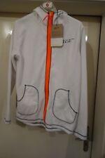 2117 Of Sweden - Veste Polaire pour Femmes Taille 48, Blanc/Orange ou Bleu