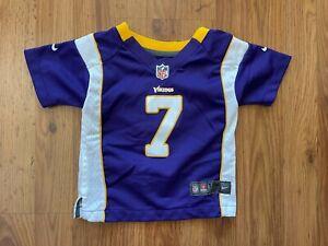 Minnesota Vikings Christian Ponder #7 NFL Infant Size 12M Baby Football Jersey!