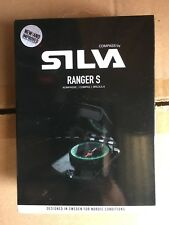 "37471 Silva Sweden Ranger S Mirrored Compass For Sighting Hiking Camping  ""MS"""