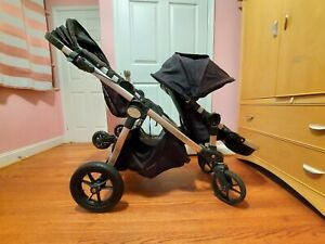 Baby Jogger City Select Double Stroller plus Glider Board, 2nd seat included