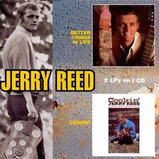 JERRY REED BETTER THINGS IN LIFE COOKIN' CD COUNTRY CLASSICS FREE UK POST