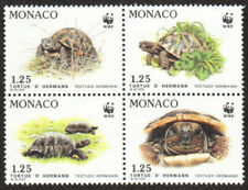 Monaco Stamp - Tortoises Stamp - NH