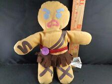 DREAMWORK'S SHREK GINGERBREAD GINGY  PLUSH STUFFED ANIMAL toy doll