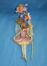 Bradford Editions 2000 Columbine Flower Fairy Porcelain Christmas Ornament