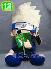 "naruto Hatake Kakashi plush toy cute gift doll 12"" new first"