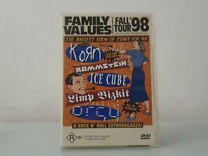 Family Values Fall Tour LIVE 98 ~ Korn, Ice Cube, Limp Bizkit ~ LIKE NEW