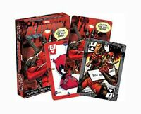 Marvel Comics 'DEADPOOL' Playing Cards Licensed Product Brand New 'MERC'