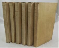OEUVRES DE MAITRE FRANCOIS RABELAIS c.1877 [6 Vols] Collected works Vellum AEG