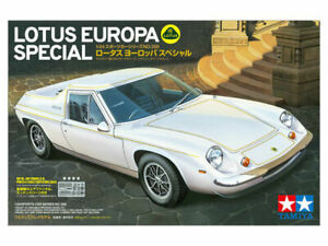 TAMIYA 1:24 SCALE LOTUS EUROPA SPECIAL - WITH INSTRUCTIONS & DECALS
