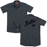 Pontiac DIVISION Licensed Adult Dickies Work Shirt All Sizes
