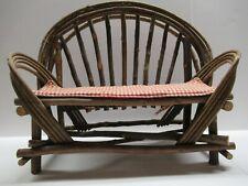 Vintage Miniature Bent wood Doll Chair