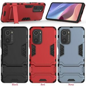 For Xiaomi Redmi K40 PRO Cover 2in1 Stand Shock Slim Armour Thin Hard Case