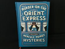 Murder on the Orient express & other mysteries (blue leather) Agatha Christie