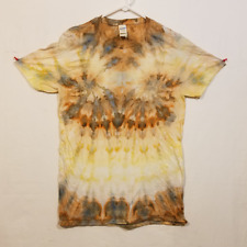 Ice Tie Dye T-Shirt - Gildan Softstyle - Handmade Psychadelic Hippie - Medium M1