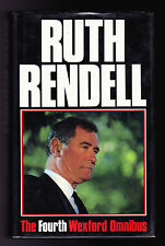 Ruth Rendell - The Fourth Wexford Omnibus - 1st/1st 1990 - Fine Copy