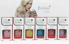 CND Gel Polish .25oz- All 6 shades from FLIRTATION Collection- Shellac