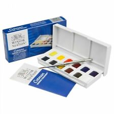 Winsor & Newton Cotman Watercolour Paint Sketchers Pocket Box12 Half Pans