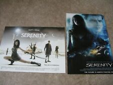 New listing Vintage 2 Serenity/Firefly Posters 16 x 12 and 17 x 11
