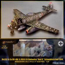 Messerschmitt Me262 A-2 Flugzeug 1944 Schwabisch Hall 1:18 Model Kit Merit 60026