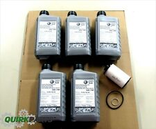 VW Volkswagen Direct Shift Gearbox Oil Case Of 5 WITH DSG Filter Gasket OEM NEW