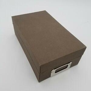 Stampin Up DIE BOX Sizzix Sizzlit Storage Container