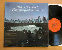 Barbra Streisand A Happening In Central Park 1968 NEAR MINT Mono CBS 63432