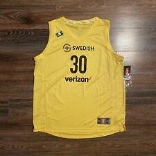 Breanna Stewart Seattle Storm WNBA Yellow Fanatics Jersey Mens XL New